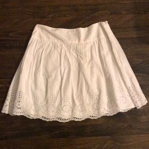 White Skirt with adorable detail at bottom